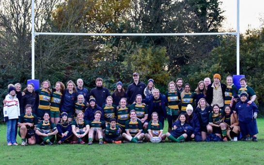 Barnes RFC ladies team photo