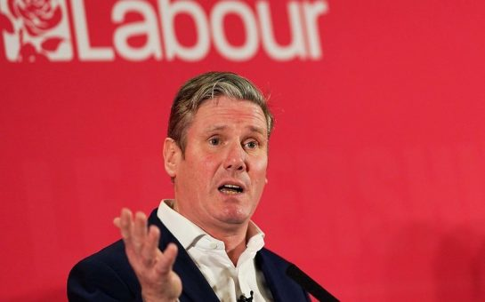 Keir Starmer ahead of Labour leadership