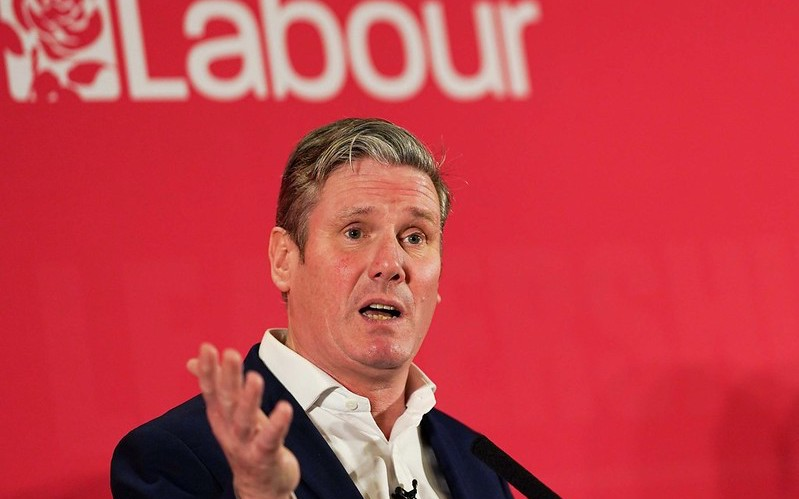 Keir Starmer ahead of Labour leadership