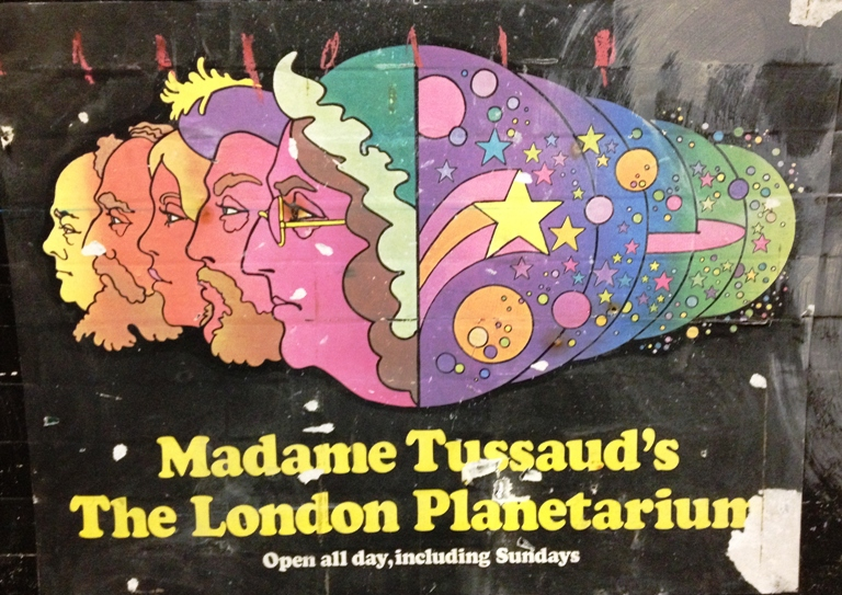 ALDWYCH original poster for Madame Tussaud's