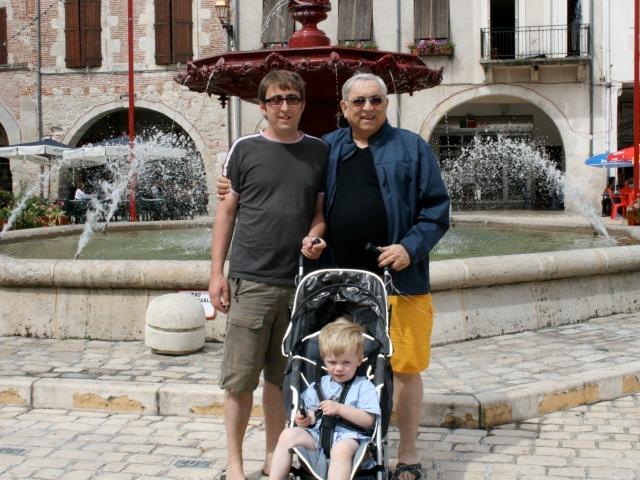 ANDREE FAMILY SIMON LEFT KARL RIGHT AND EDWARD BOTTOM