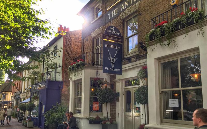 The Antelope pub in Kingston