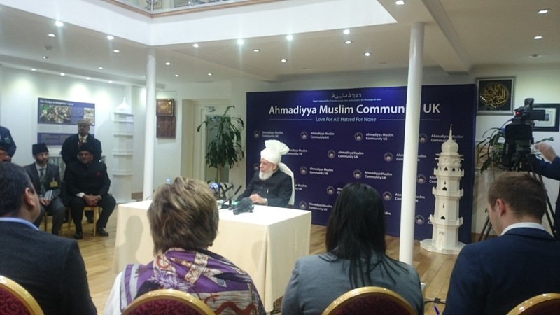 Ahmadiyya Muslim Community Peace Symposium