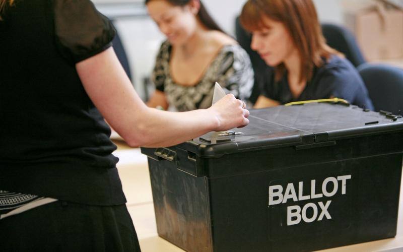 Ballot Box - Electoral Commission