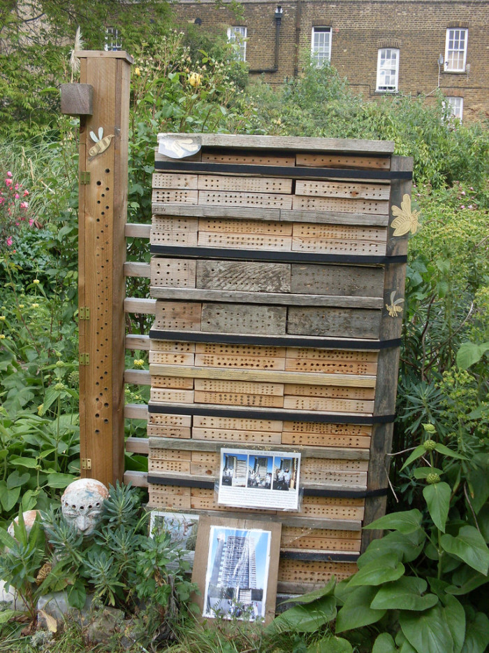 Bee hotel London flickr London Permaculture