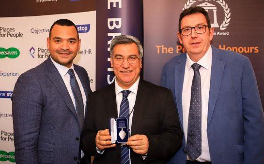 Dr Nooralhaq Nasimi and his British Citzenship Award