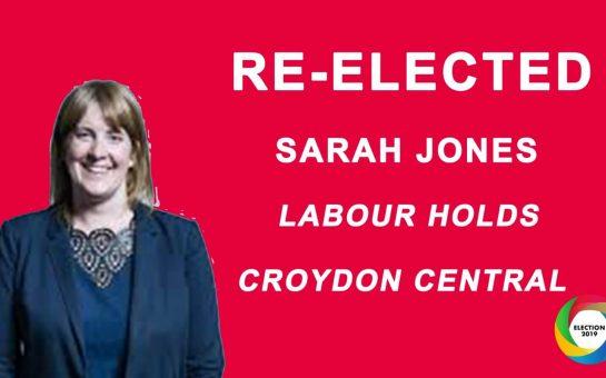 Sarah Jones wins