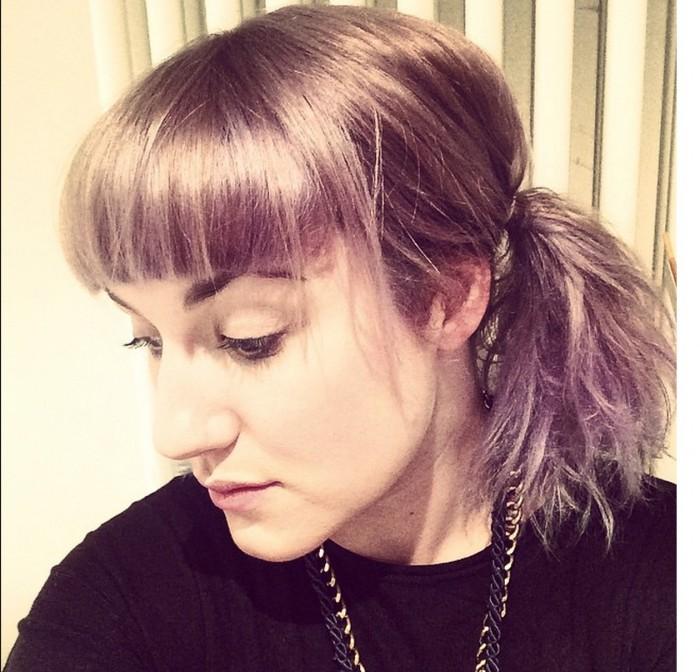 Carrie Barclay selfie side profile