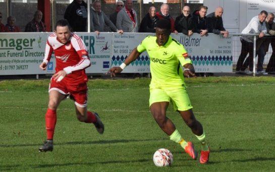 Carshalton Athletic's Kingsley Aikhionbare