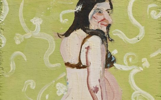 Chantal-Joffe_Self-Portrait-Pregnant