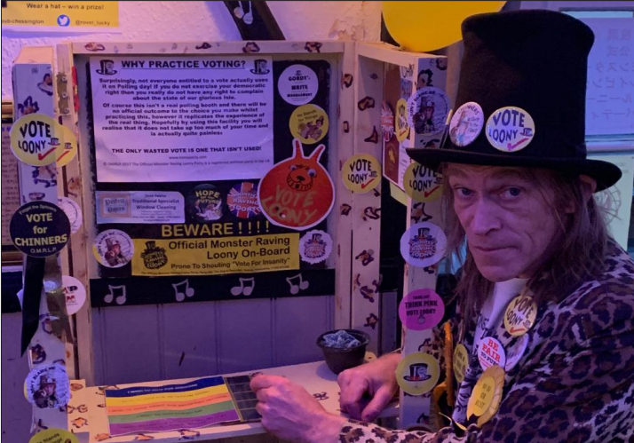 Monster Raving Loony Party Chinners Chinnery