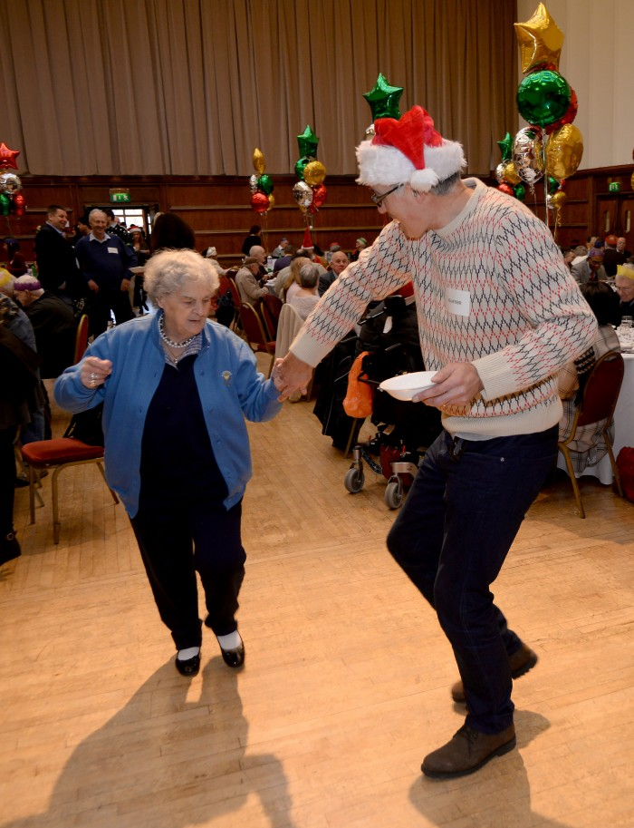 Christmas dinner dancing Hammersmith & Fulham Council