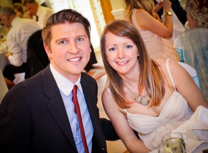 Clapham Common London Marathon wedding picture