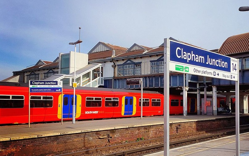 Clapham Junction train station