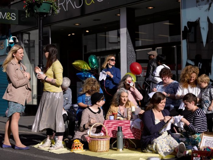 Craftivist Collective m&s stitch in tea  PollyBraden