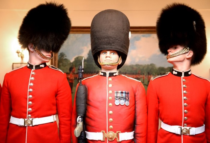 Credit - Sgt R Frere RLC MOD Crown Copyright LOND-2014-163-Guards Cake-029 Grenadier Guards close-up