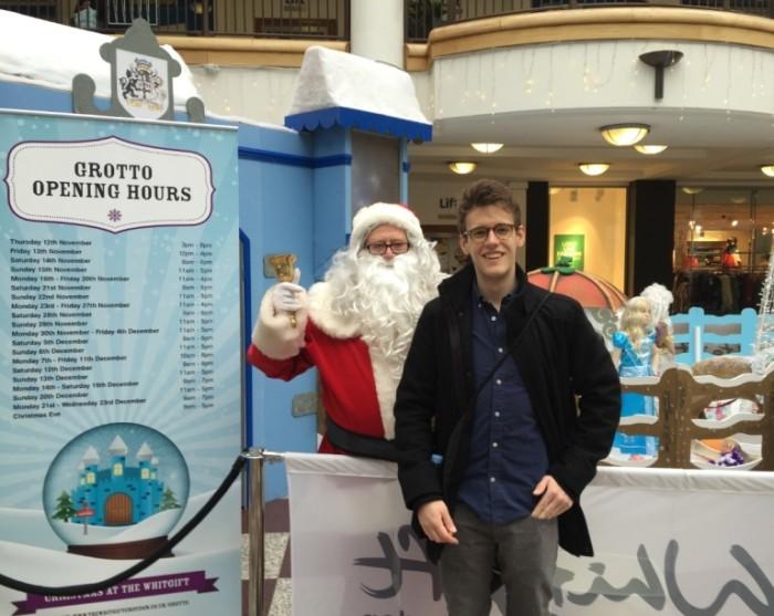 Croydon Black Friday Alex Yeates Santa