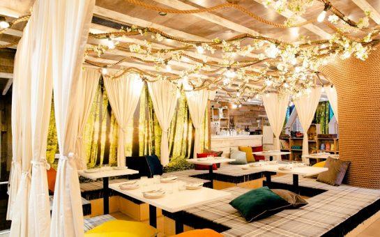 Dominique Ansel Treehouse interior