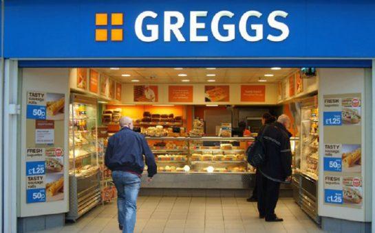 A Greggs shopfront