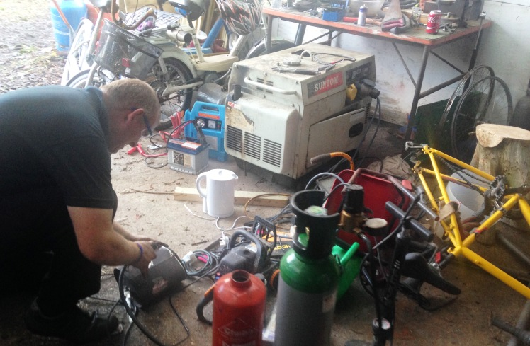 Grow Heathrow bike workshop