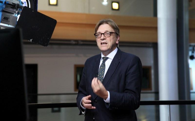 Guy Verhofstadt - ALDE Communication