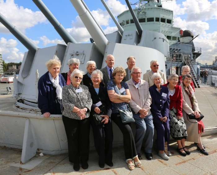 HMS Belfast Internee Reunion courtesy of IWM