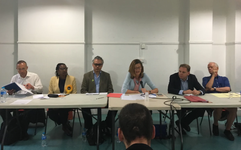 Disability hustings in Hammersmith - 2017 general election