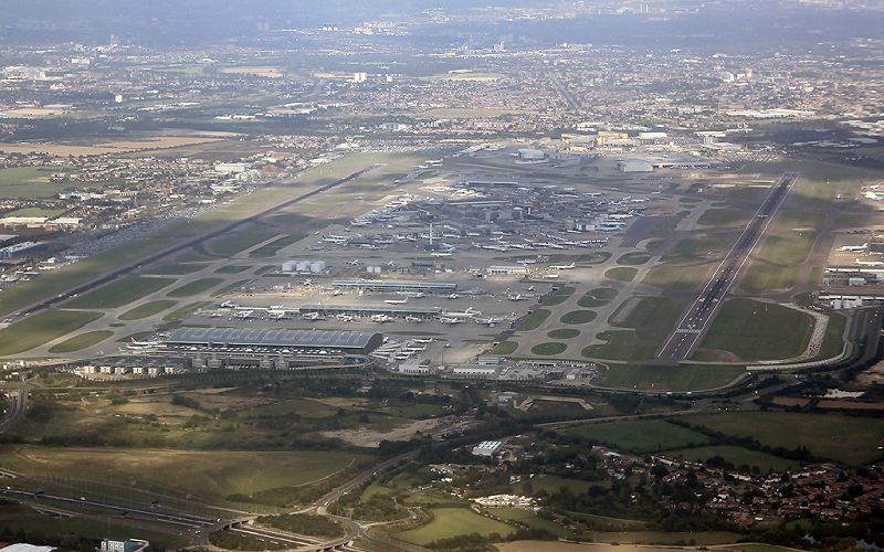 A third runway is being proposed at Heathrow Airport