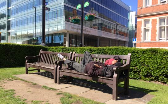 Homelessness in Croydon