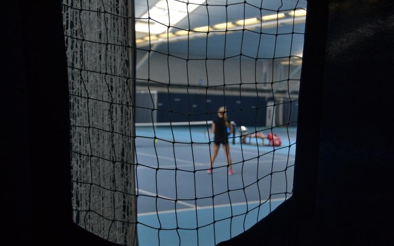 Indoor court National tennis centre