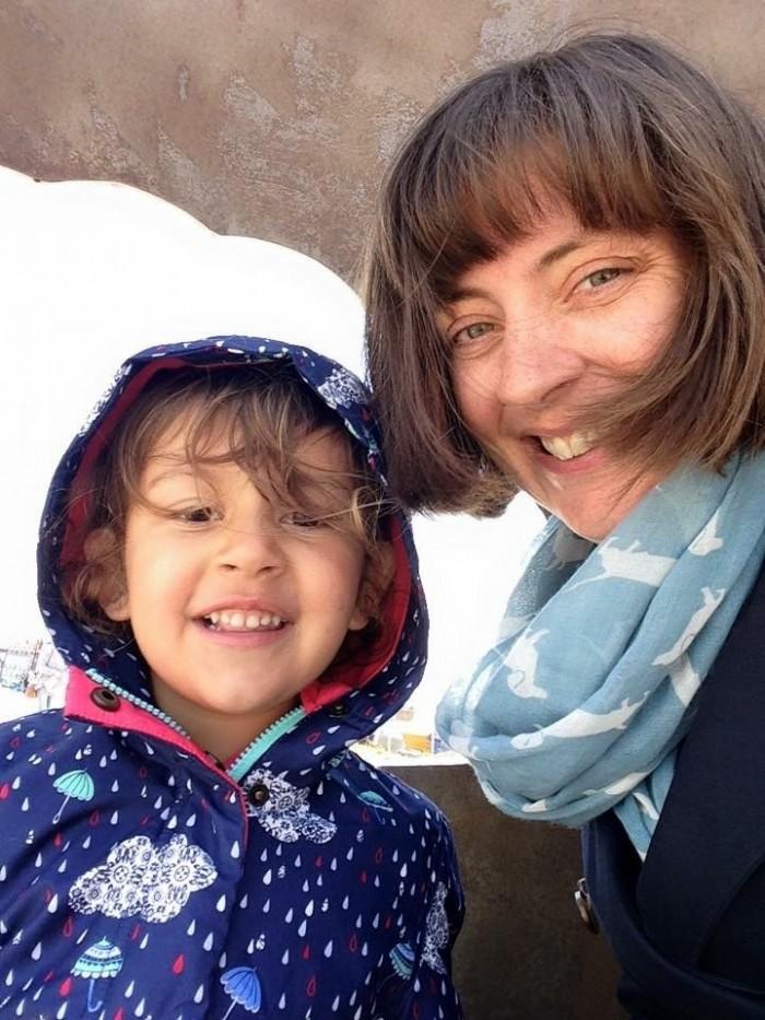 Jennifer Deane with daughter Eva