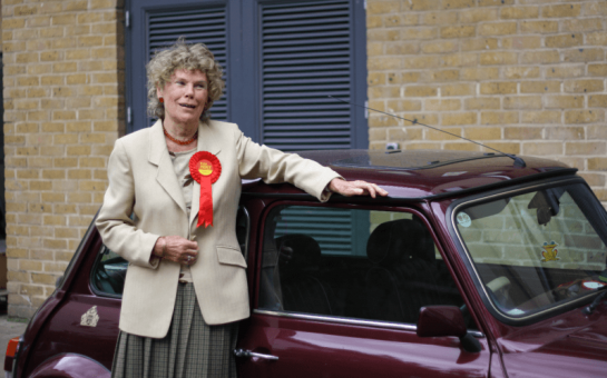 Kate Hoey campaigns in Vauxhall