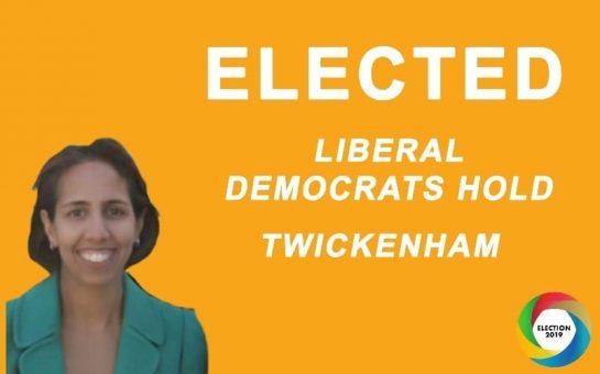 Twickenham results in: Liberal Democrats' Munira Wilson wins seat