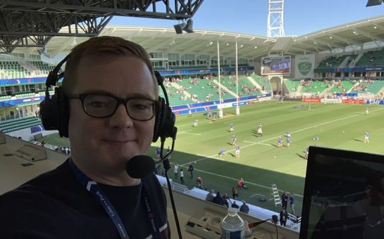 Sport commentator Nick Heath went viral after sharing life commentary on social media during the lockdown.