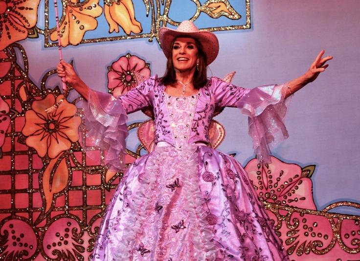 Linda Gray Dallas pantomime pic credit Craig Sugden