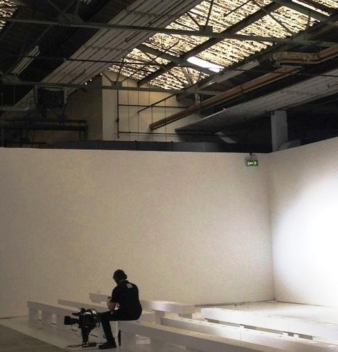 London Fashion Week roof man fell