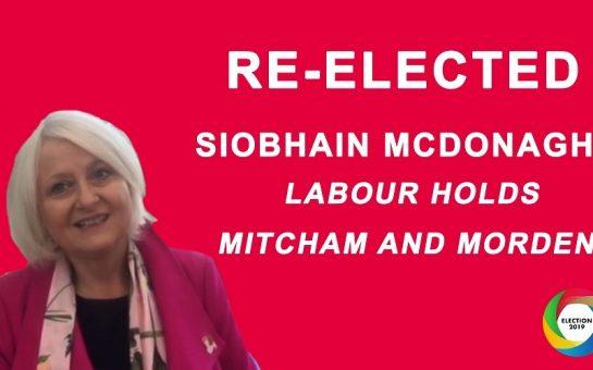 Siobhain McDonagh Mitcham Morden General Election 2019 Labour Corbyn