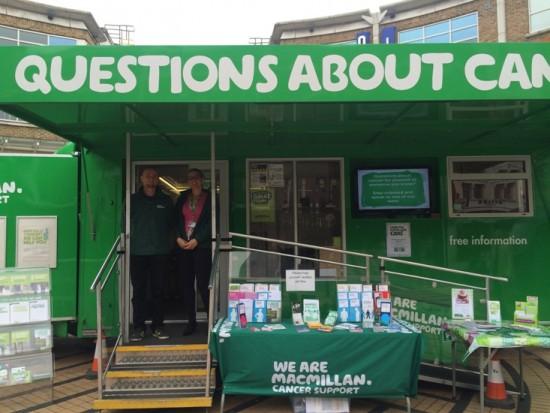 Macmillan cancer truck SWL