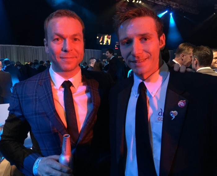 Marathon Man Rob Young BBC Sports Personality of the Year 2014 Chris Hoy