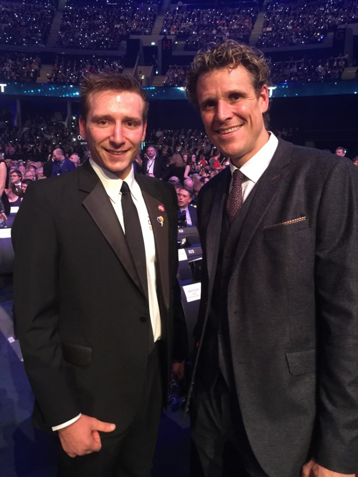Marathon Man Rob Young James Cracknell BBC Sports Personality of the Year 2014