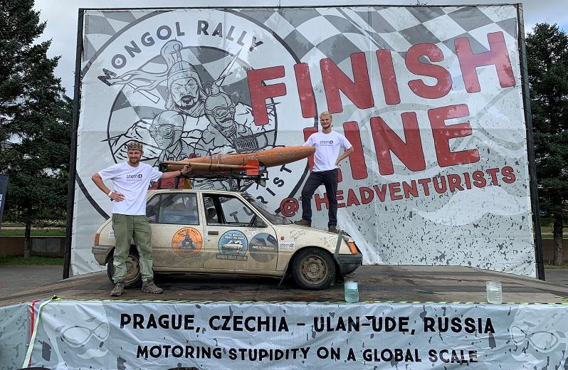 Mongol Rally raising funds for stem4