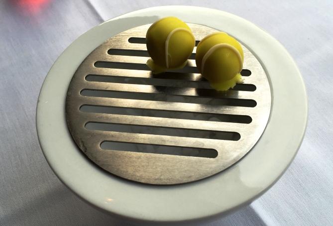 NADAL RESTURANT tennis dessert