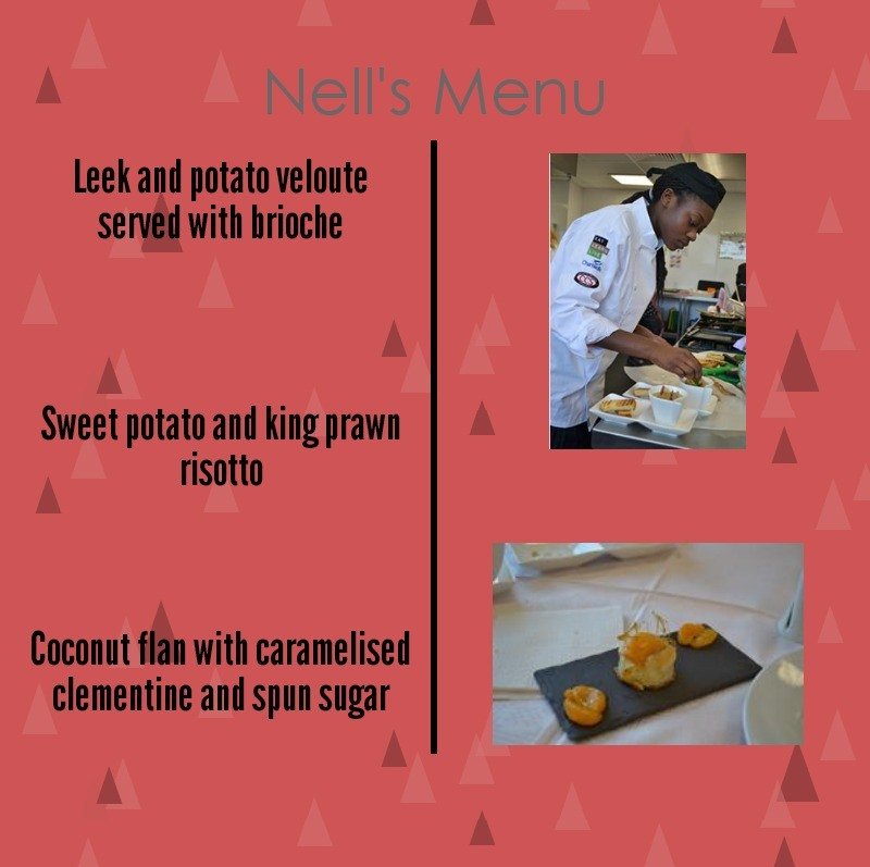 Nell's menu