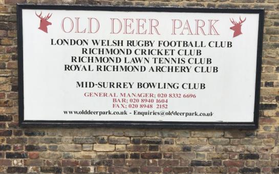 Old Deer Park London Welsh