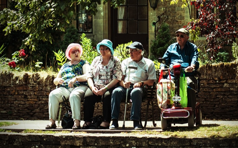 Old people group