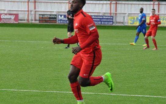 Omari Hibber - Carshalton Athletic v Guernsey