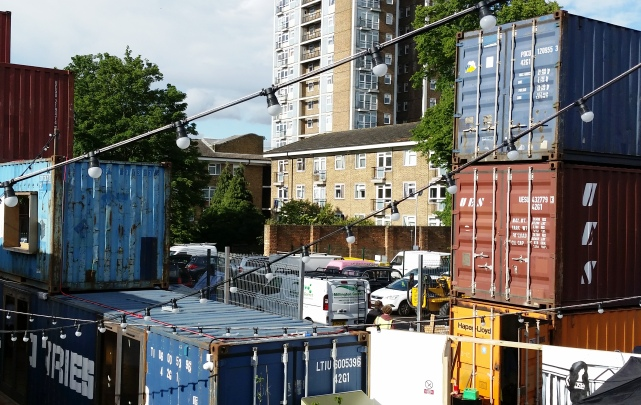 Pop Brixton containers
