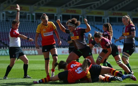 Harlequins score in thrashing of Richmond