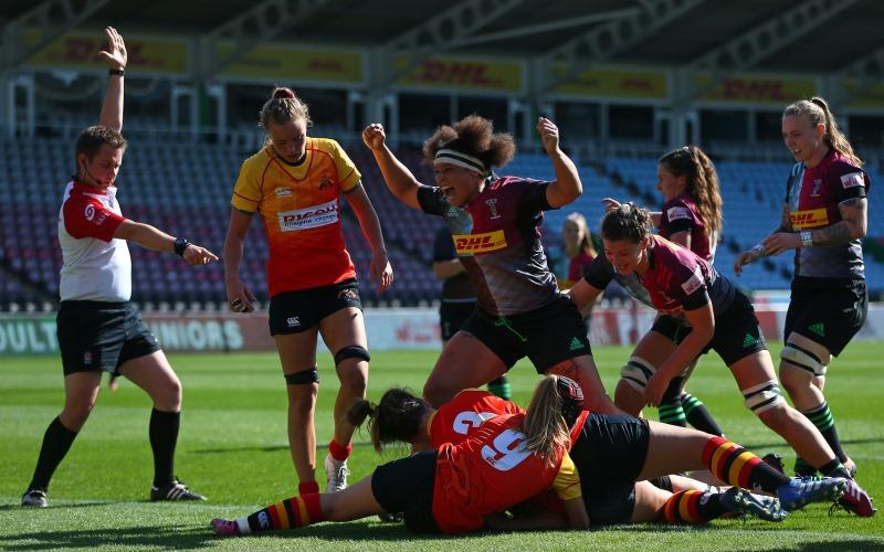 Harlequins score in thrashing of Richmond