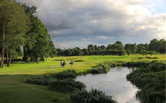 The eighth hole at Royal Mid-Surrey Golf Club
